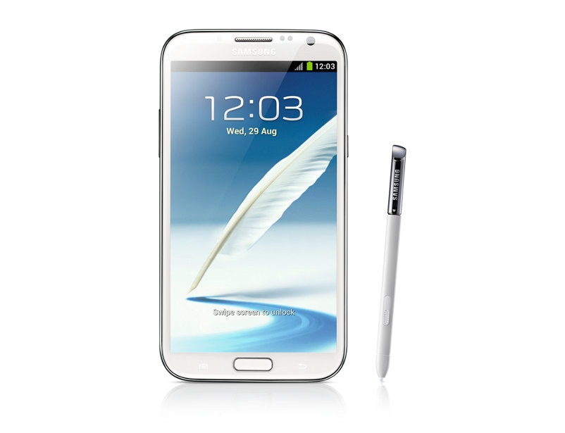 Galaxy Note II (White) Front