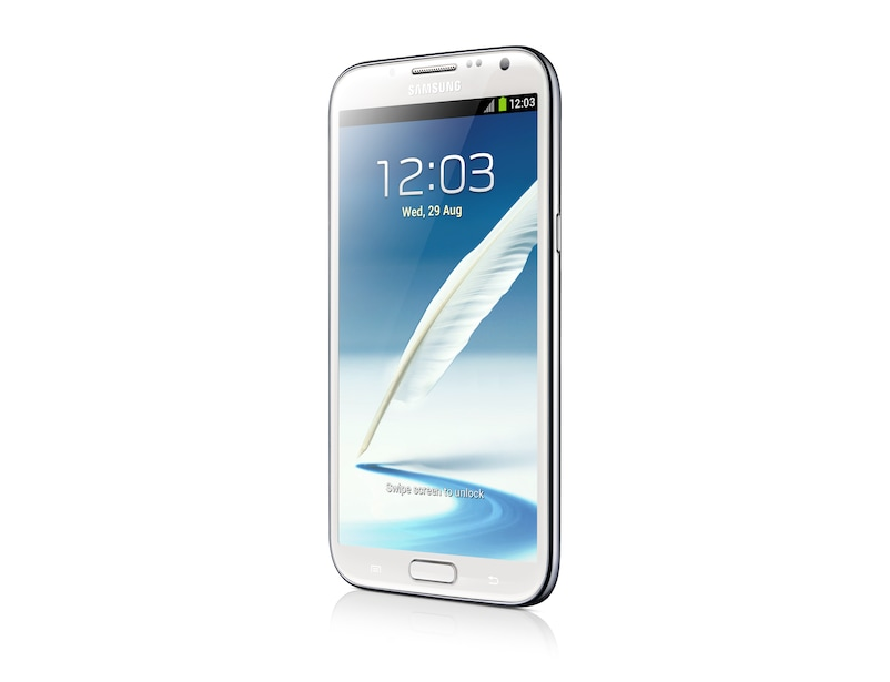 Galaxy Note II (White) R Side