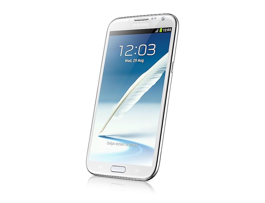 Samsung Galaxy Note 2 (White) - Full Specs | Samsung UK