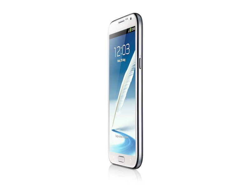 Galaxy Note II (White) Side