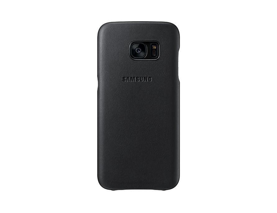 watch b75fe edbd6 Galaxy S7 Leather Phone Cover | Samsung UK