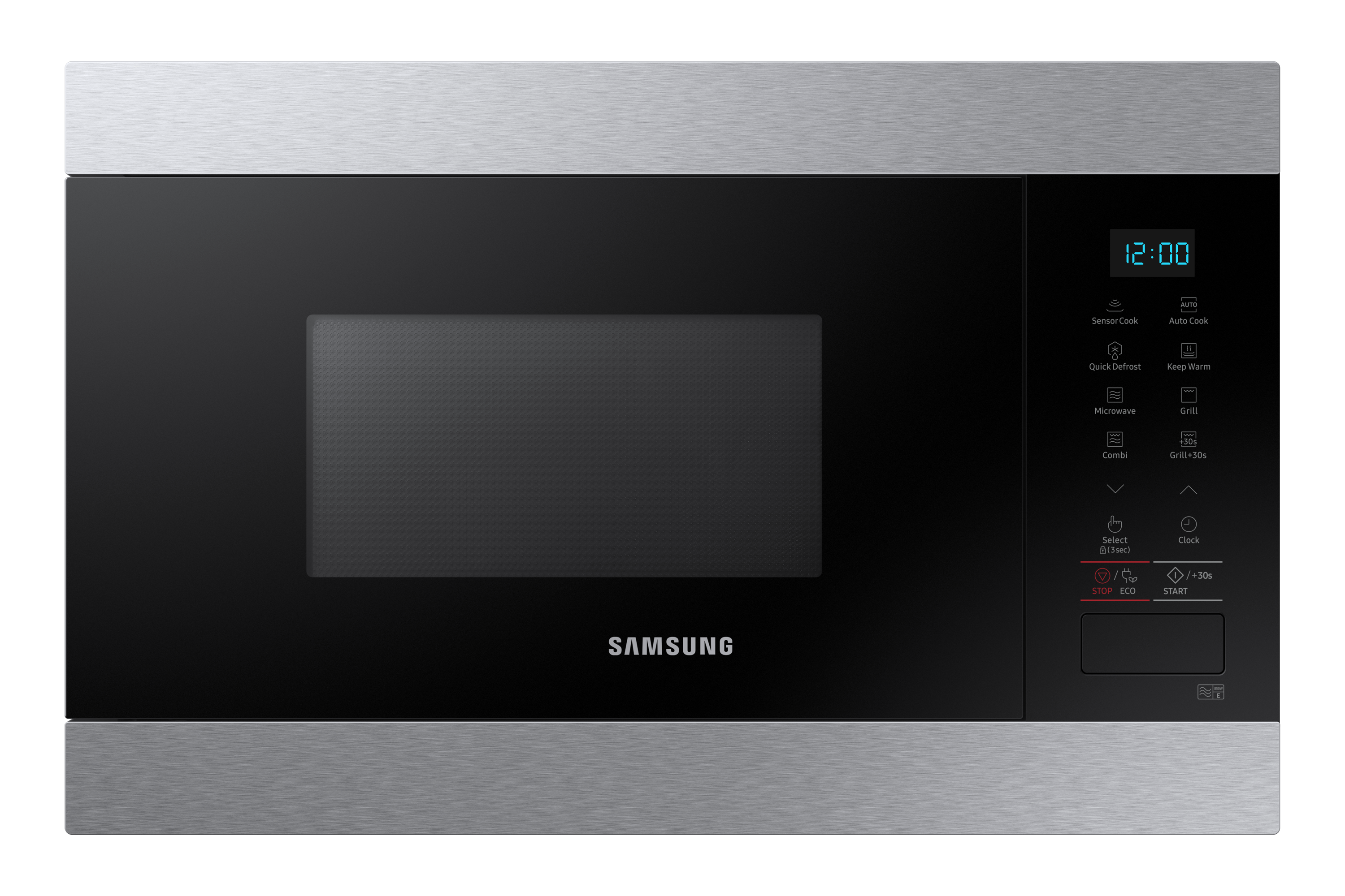 Built-In Grill Microwave with Smart Humidity Sensor, 22L