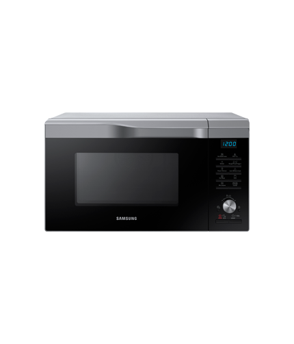 Mc28m6075cs Convection Microwave Oven 28l Silver Samsung Uk
