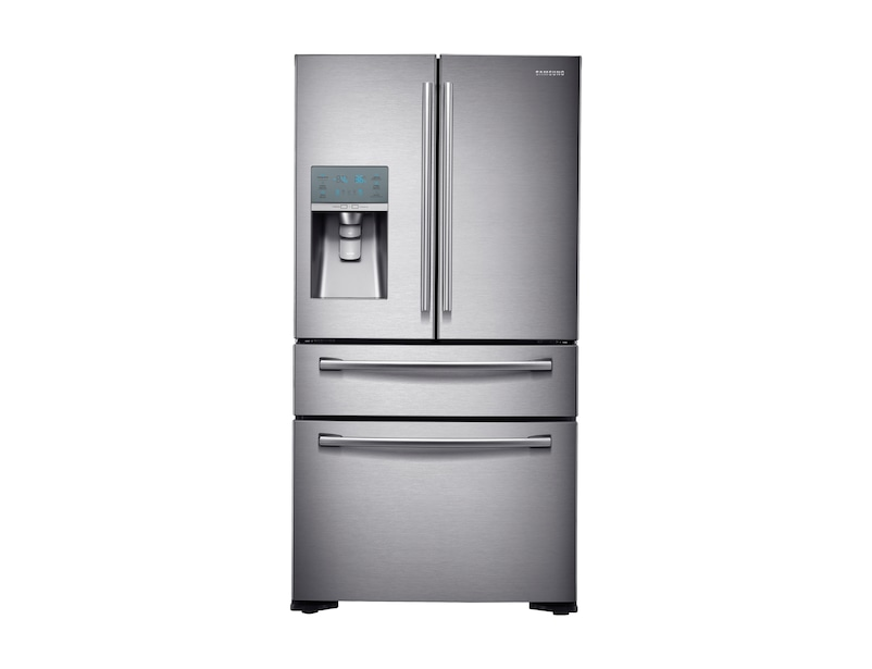 Four Door Fridge Freezer Front2 Silver