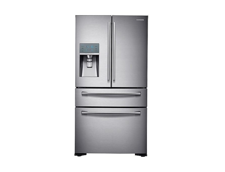 Four-Door Fridge Freezer front2 silver