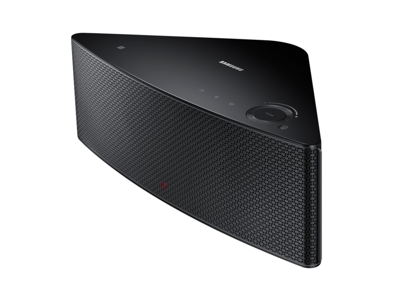 M5 Medium Wireless Audio Multiroom Speaker (Black) R Side perspective