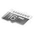 Micro SDHC Pro Memory Card with SD Adaptor (16GB) L perspective
