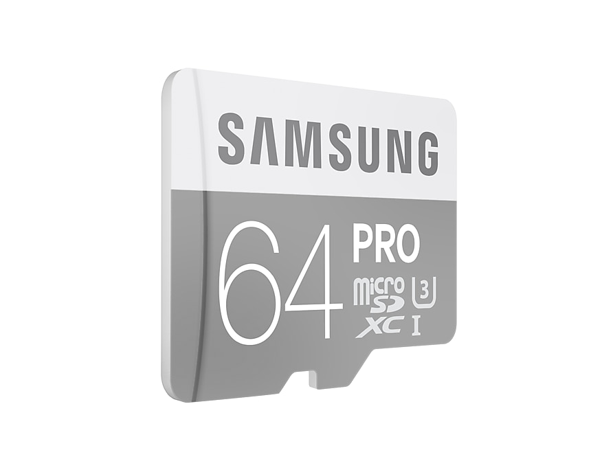 64gb microsdxc pro with sd adapter class 10 u3 up to 90 mb. Black Bedroom Furniture Sets. Home Design Ideas