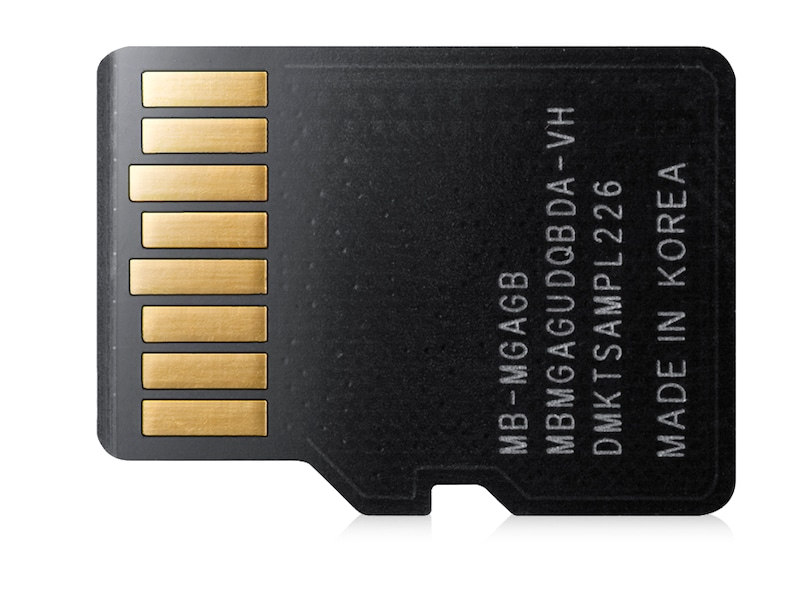 16GB MicroSDHC Pro (Smartphone, Tablet) Back Black