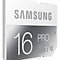 SDHC Pro Memory Card (16GB) Front Grey