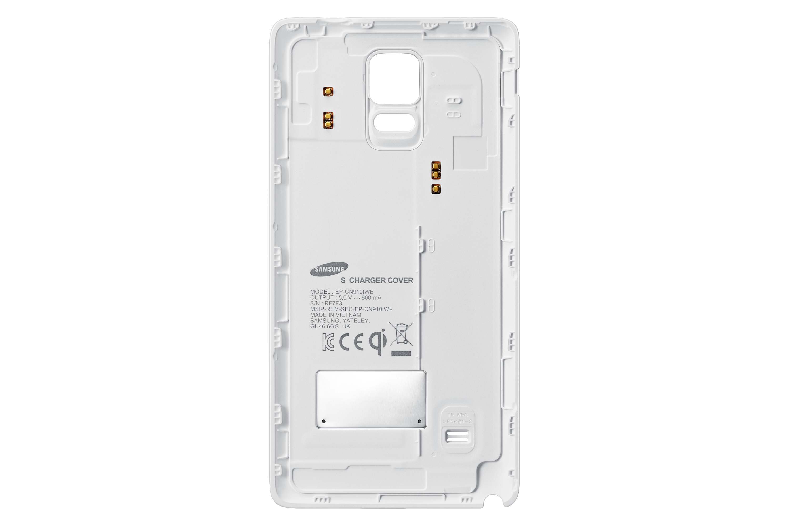 Samsung Galaxy Note 4 Wireless Charging Back Cover (White) | Samsung UK