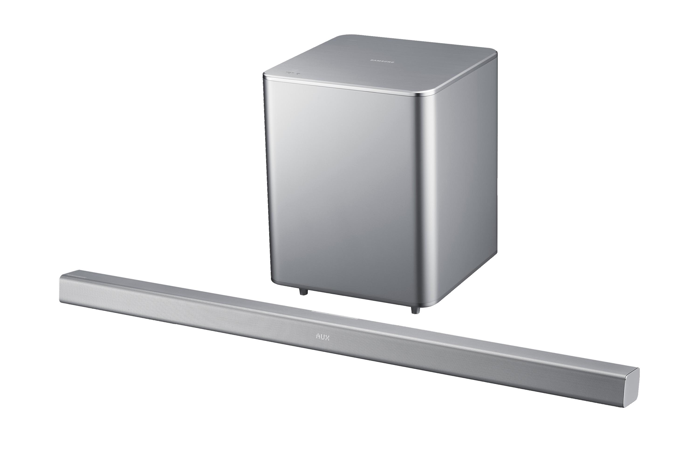 """HW-F551 46"""" Soundbar with wireless Sub"""