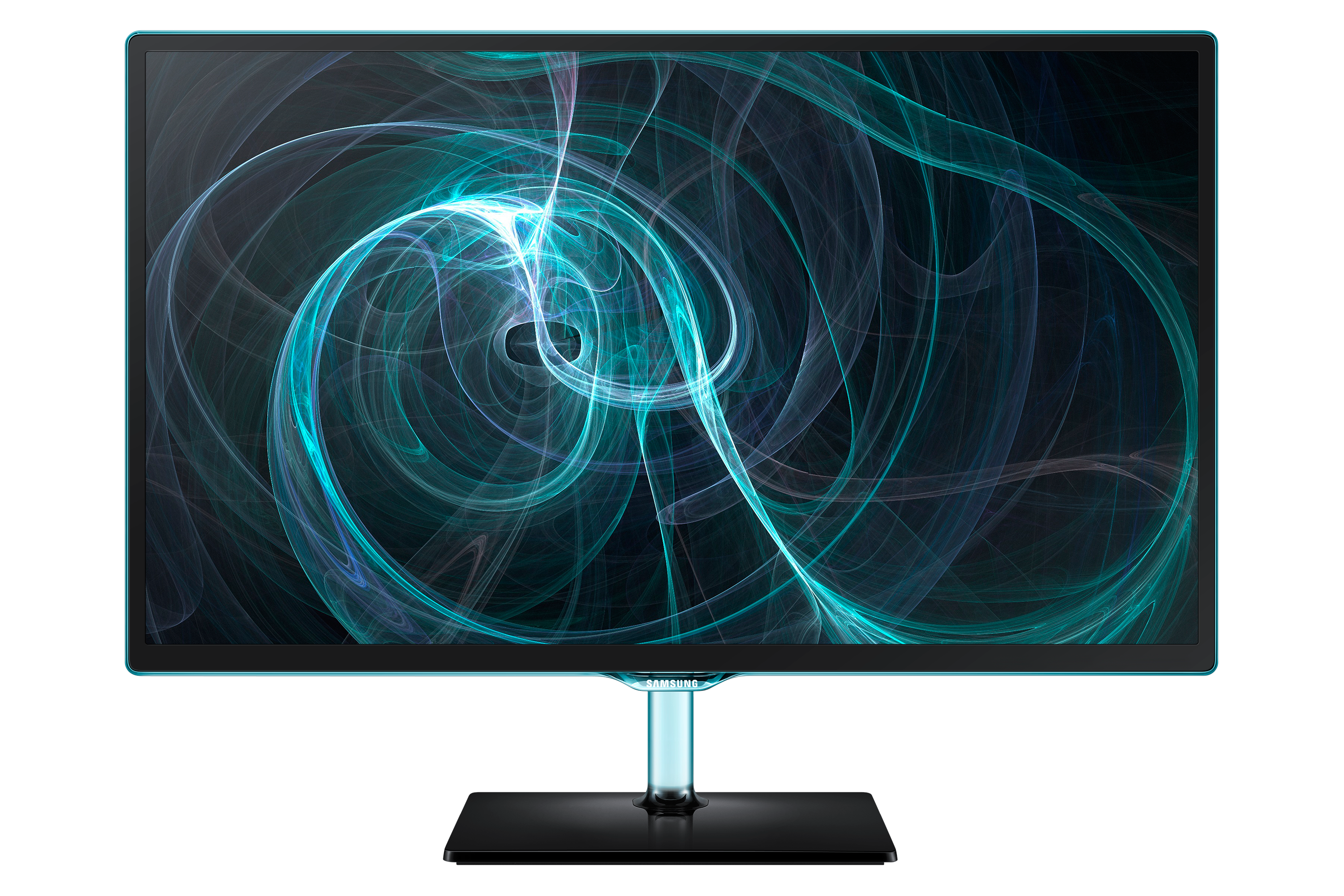 "22"" TV monitor with the blue Touch of Colour (Black)"