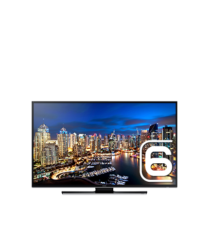 "55"" Series 6 Smart UHD TV Front Black"