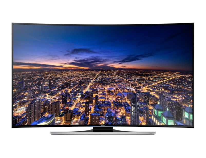 "55"" Series 8 Curved Smart 3D UHD 4K LED TV Front Black"