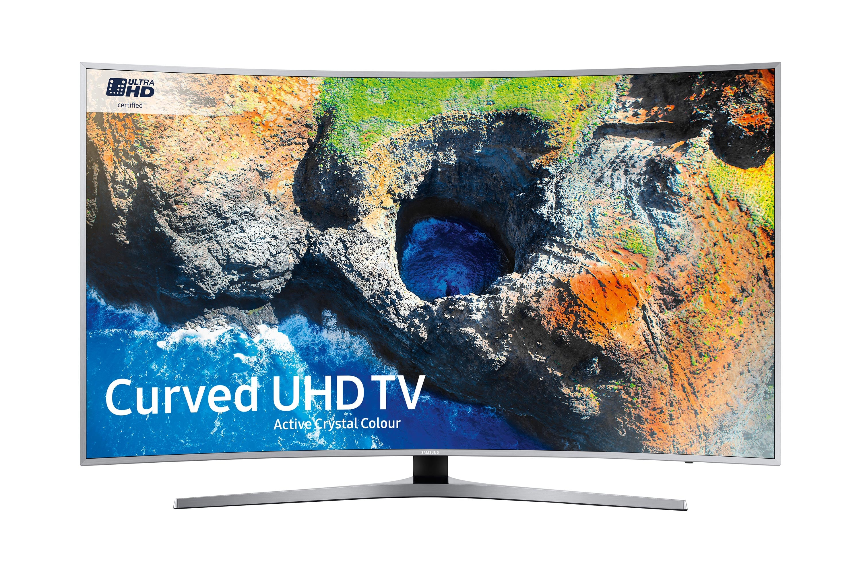 49'' MU6500 Curved Active Crystal Colour Ultra HD HDR Smart TV