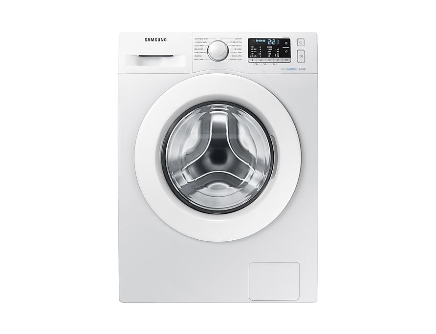 Ww70j5355mw 7kg Smart Washing Machine With Ecobubble Samsung Uk