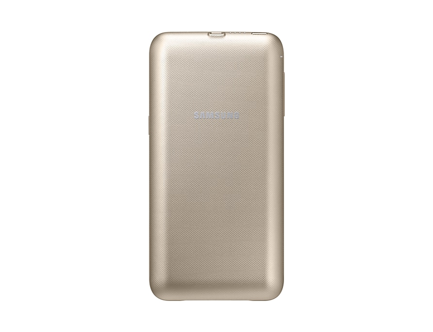 the best attitude 944d8 335f1 Wireless Charging Case for Galaxy S6 edge+ Gold | Samsung UK