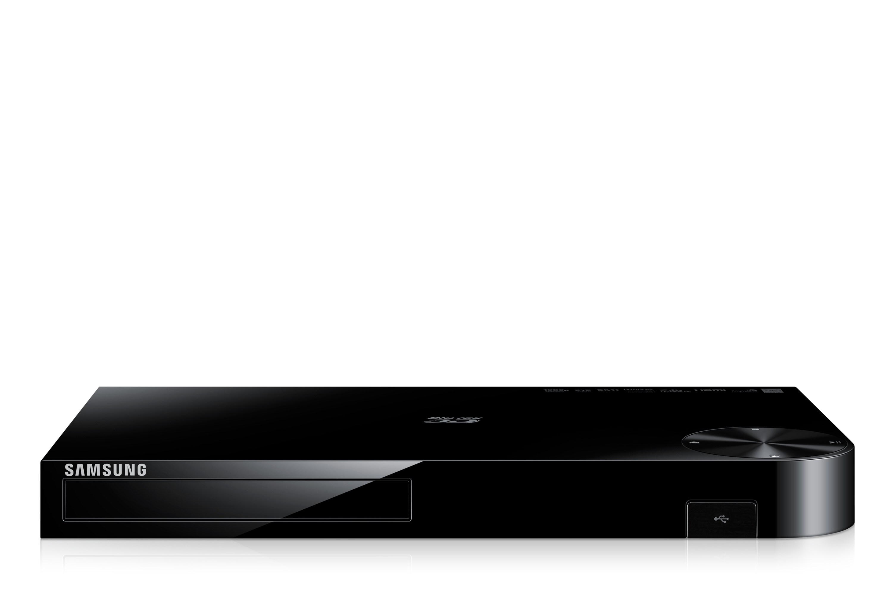 BD-F5500 3D Networking Blu-ray & DVD Player Front Black