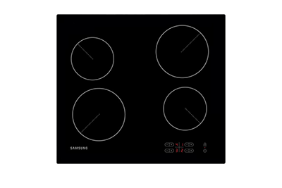Electric Hob with Residual Heat indicator