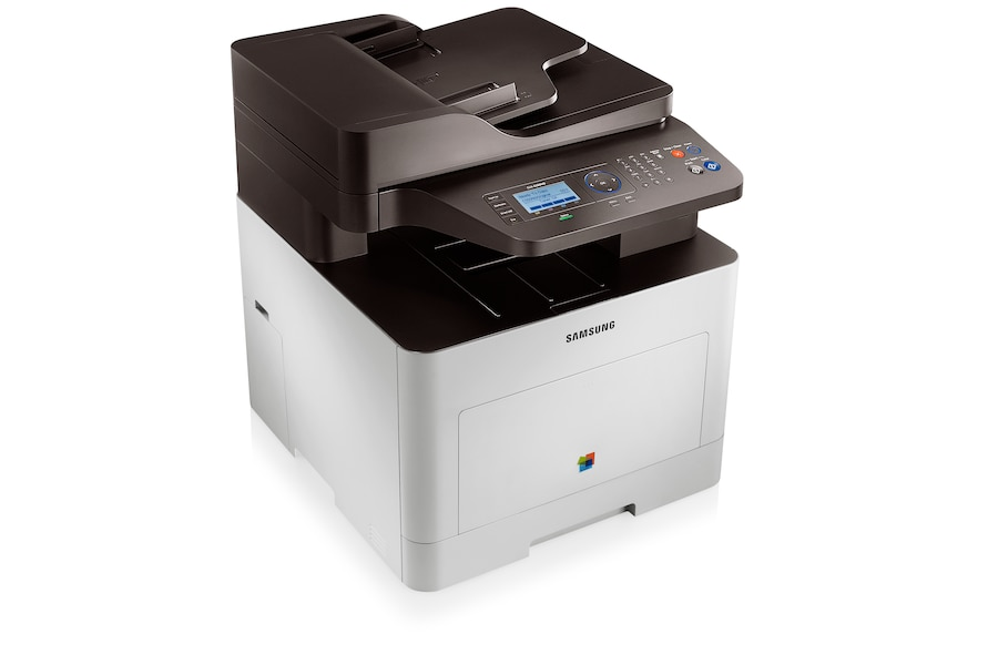 CLX-6260ND 24ppm A4 Colour Multifunction Printer 6260ND Left Angle White