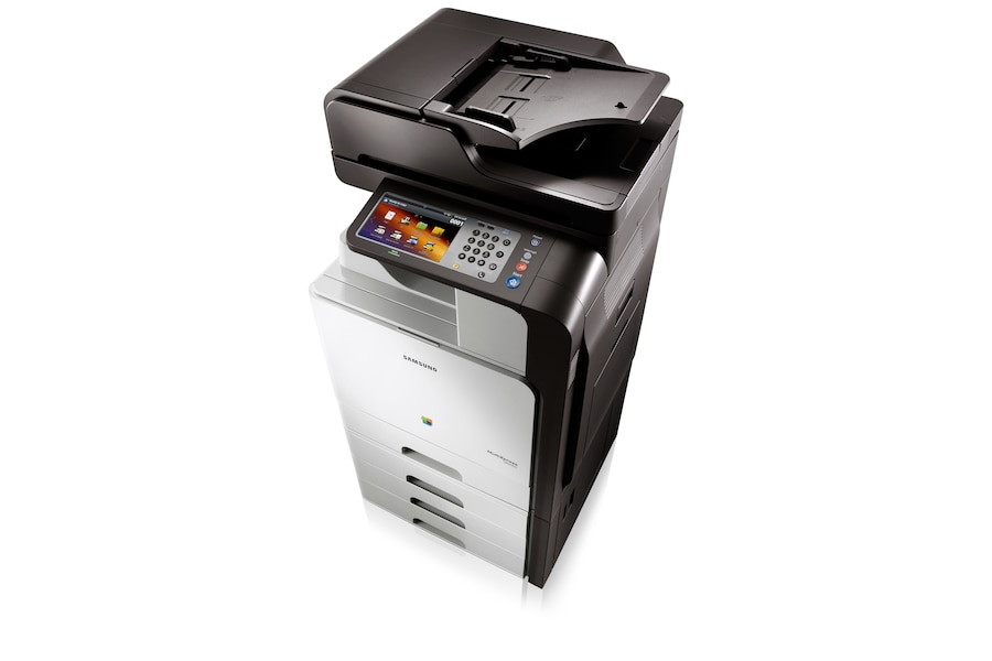 CLX-8640ND 38ppm A4 Colour Multifunction Printer 8640ND Dynamic2 white