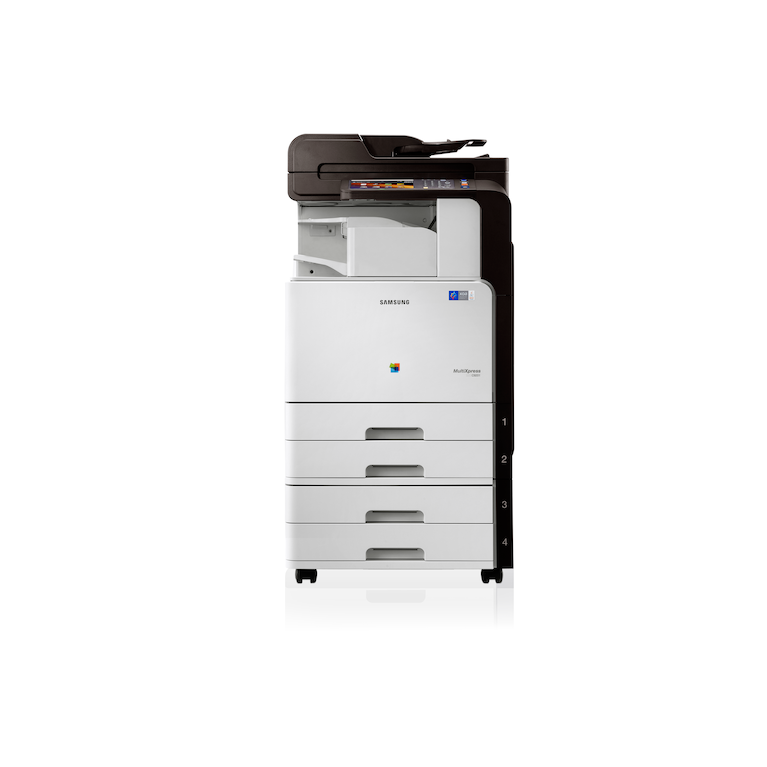 CLX-9201NA 20ppm A3 Colour Multifunction Printer 9201NA Front white