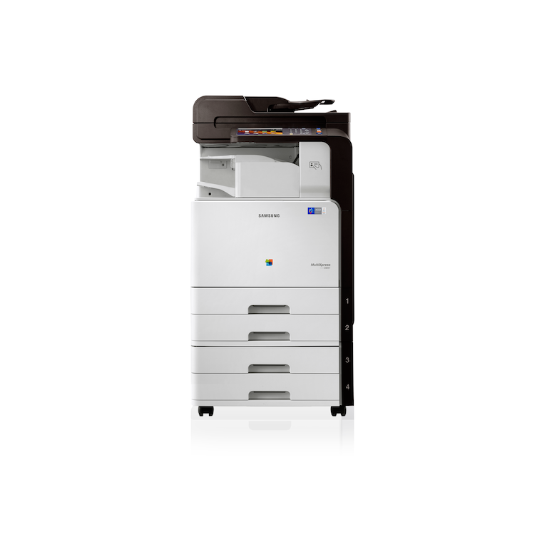 CLX-9251NA 25ppm A3 Colour Multifunction Printer 9251NA Front Logo