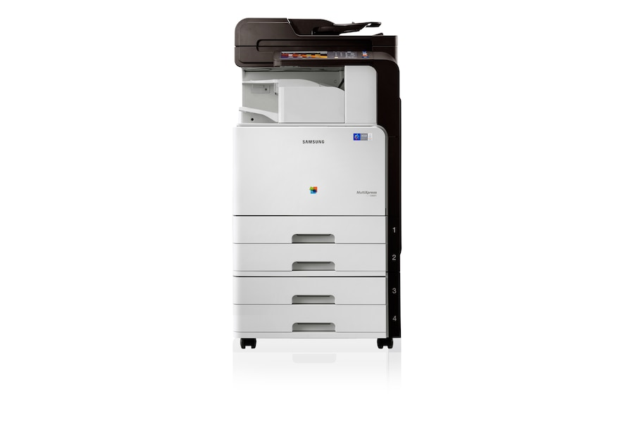 CLX-9301NA 30ppm A3 Colour Multifunction Printer 9301NA Front white