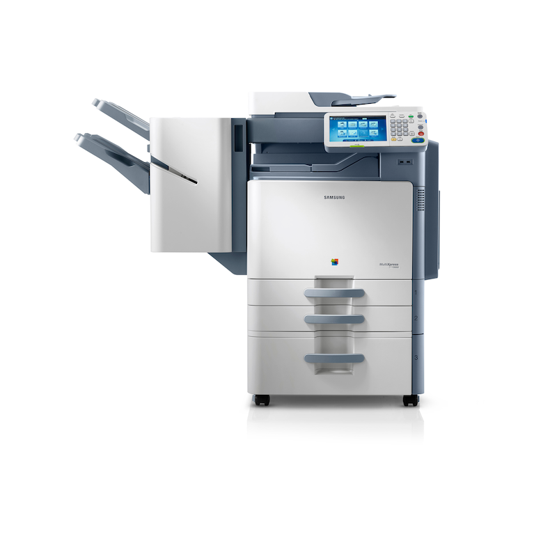CLX-9352NA 35ppm A3 Colour Multifunction Printer 9352NA Front white