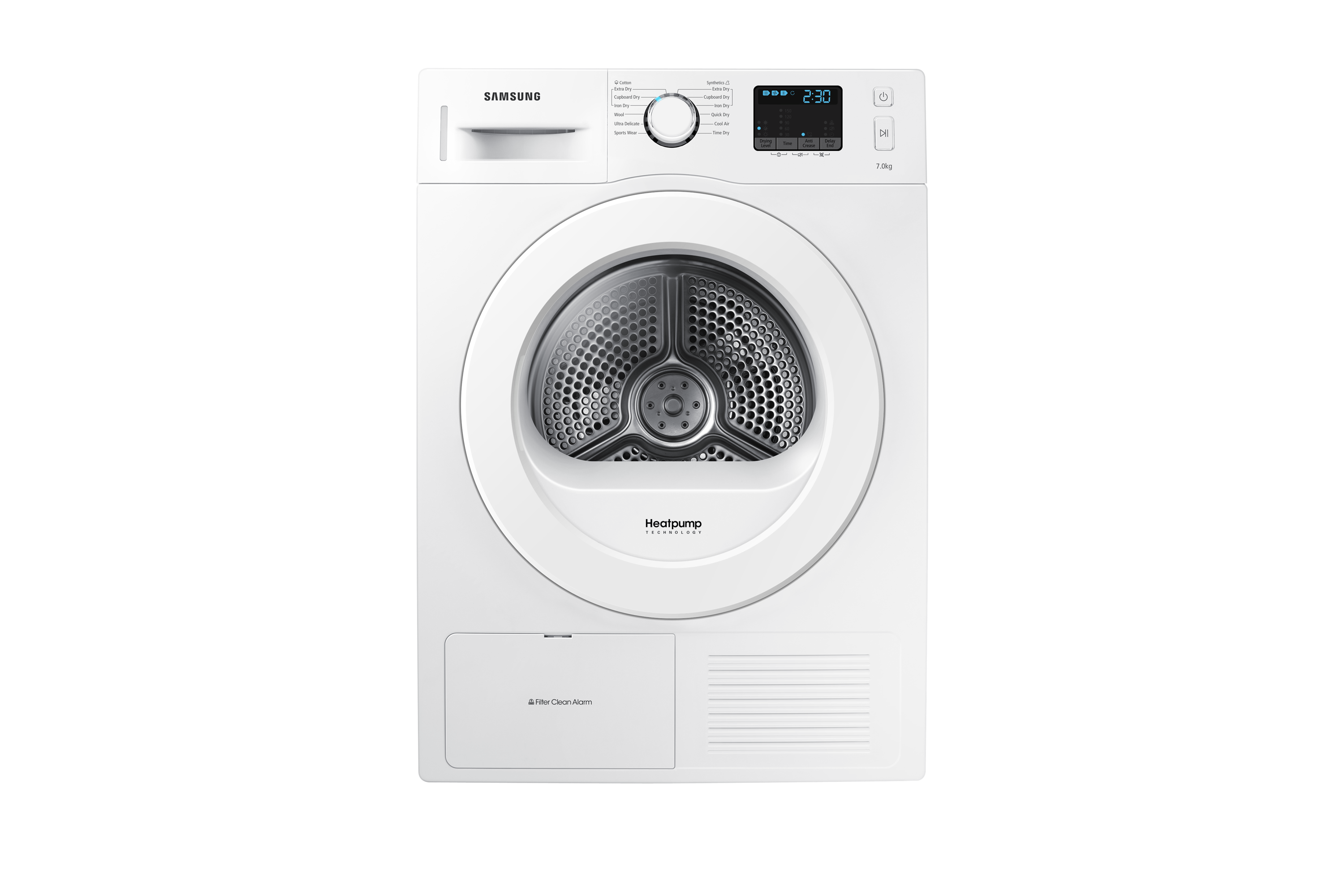 D200 Tumble Dryer with Heat Pump Technology, 7 kg
