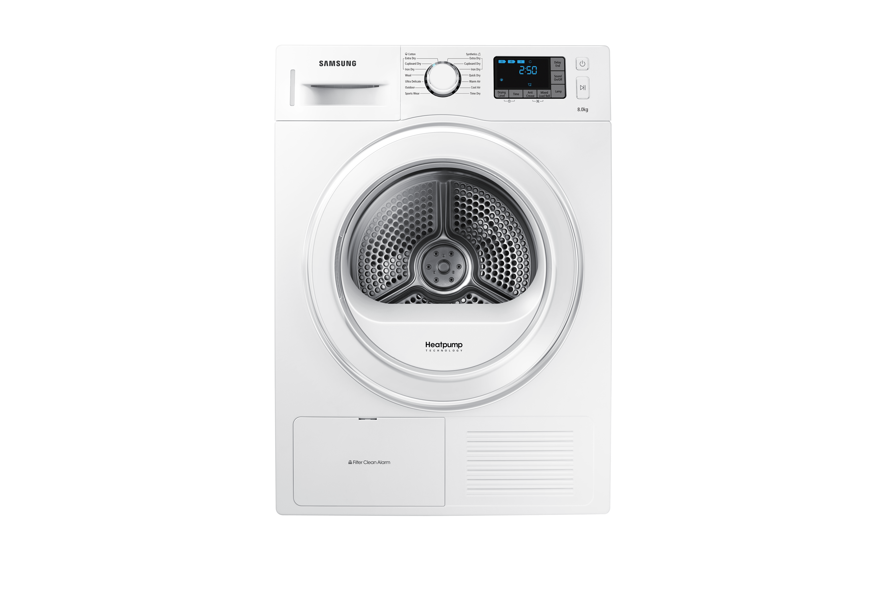 DV80F5E5HGW 8kg Heat Pump Tumble Dryer