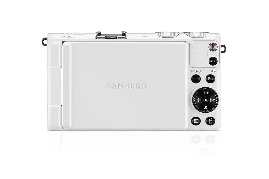 SAMSUNG EX2F Smart Camera Back white