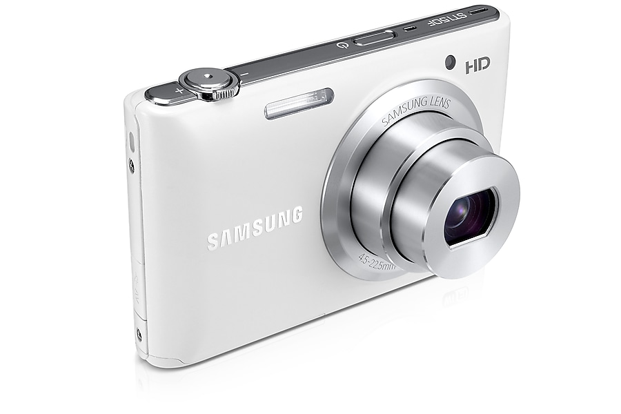 SAMSUNG ST150F Smart Camera Left Angle White