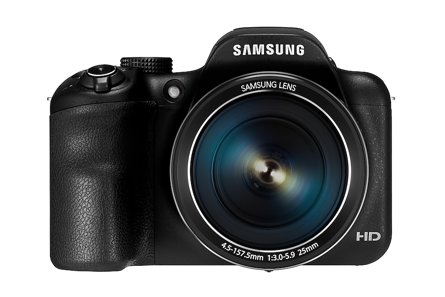 SAMSUNG WB1100F Smart Camera Front