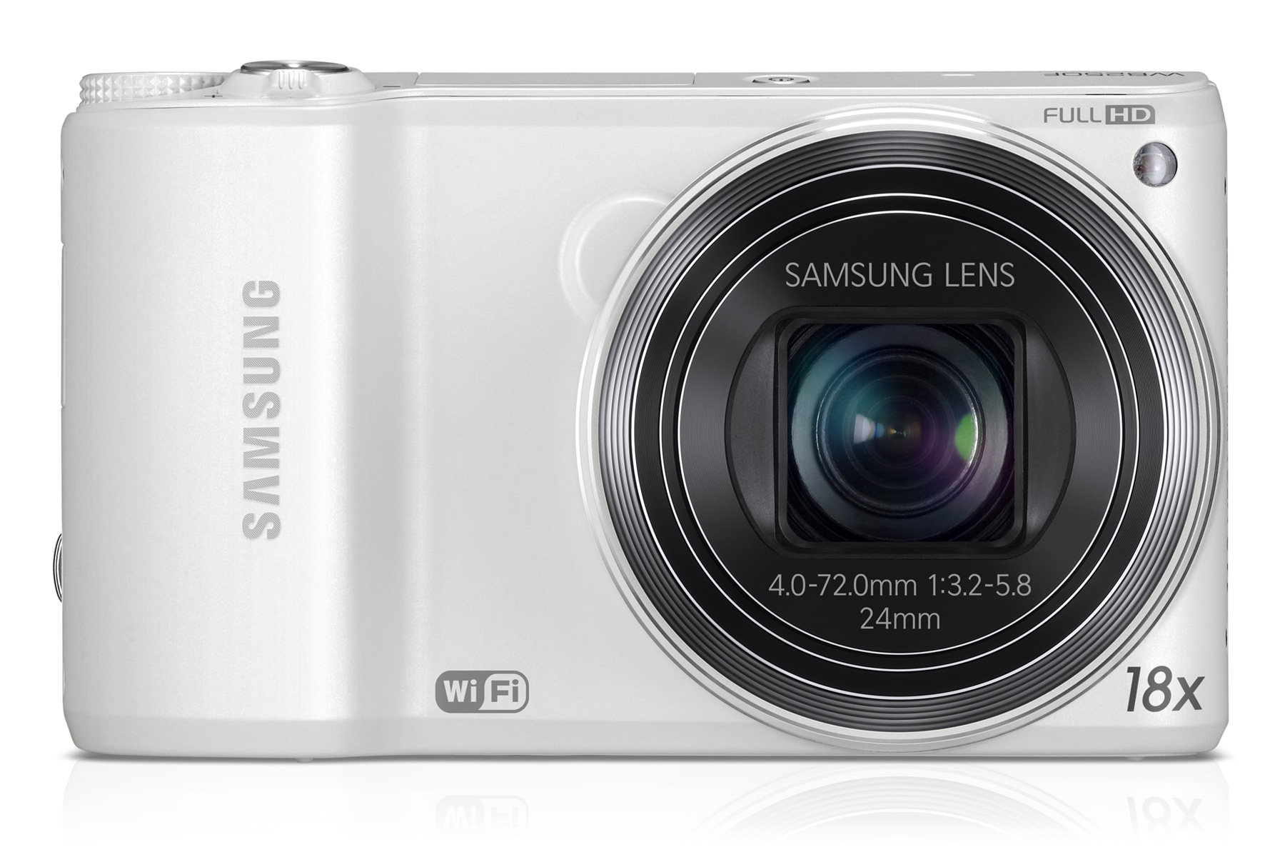 SAMSUNG WB250F Smart Camera Front White
