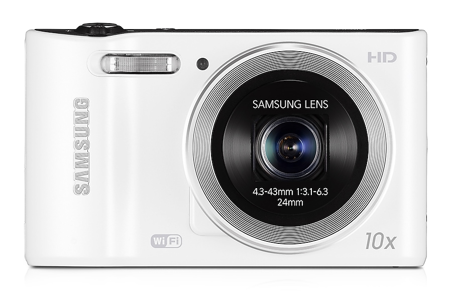 SAMSUNG WB30F Smart Camera Front White