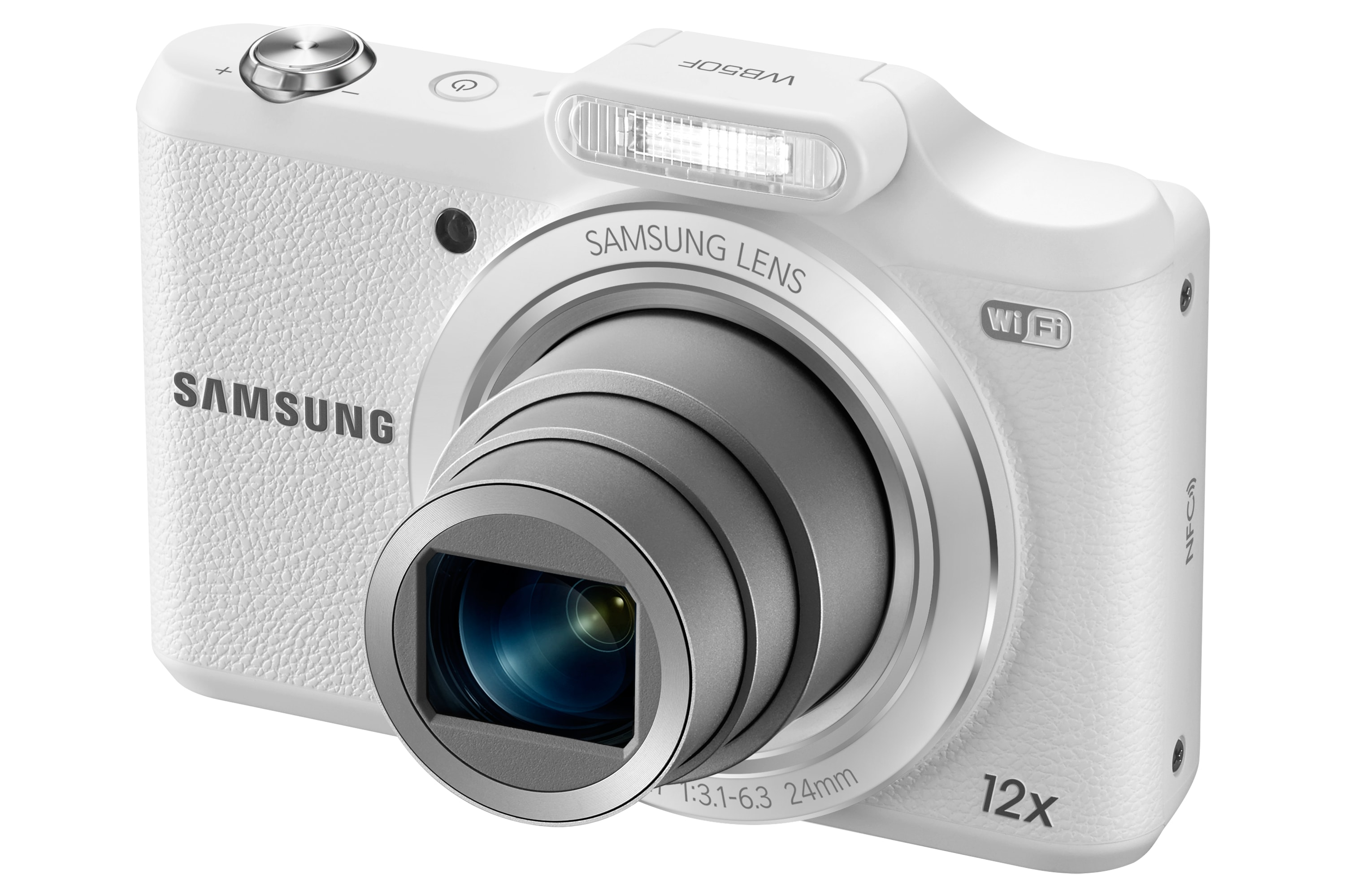 SAMSUNG WB50F Right Angle White