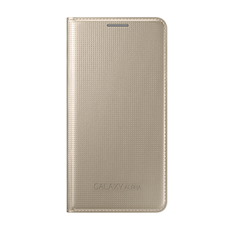 EF-FG850B Galaxy ALPHA Flip Cover (Gold)