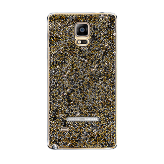 EF-ON910R Galaxy Note 4 Swarovski Crystal Back Cover (Sunset Gold)