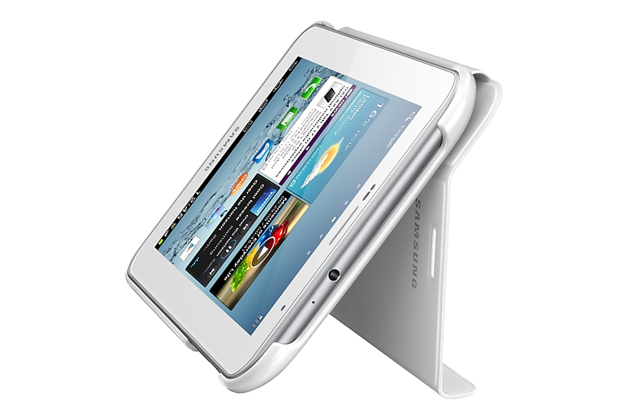 Galaxy Tab 2 7.0 White Notebook Cover