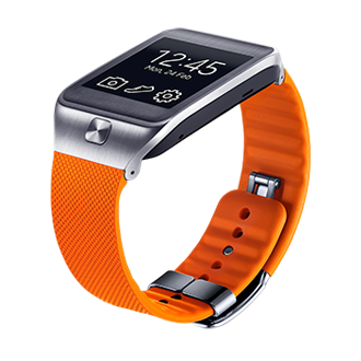 ET-SR380B Gear 2 & Gear 2 Neo Basic Strap (Wild Orange)