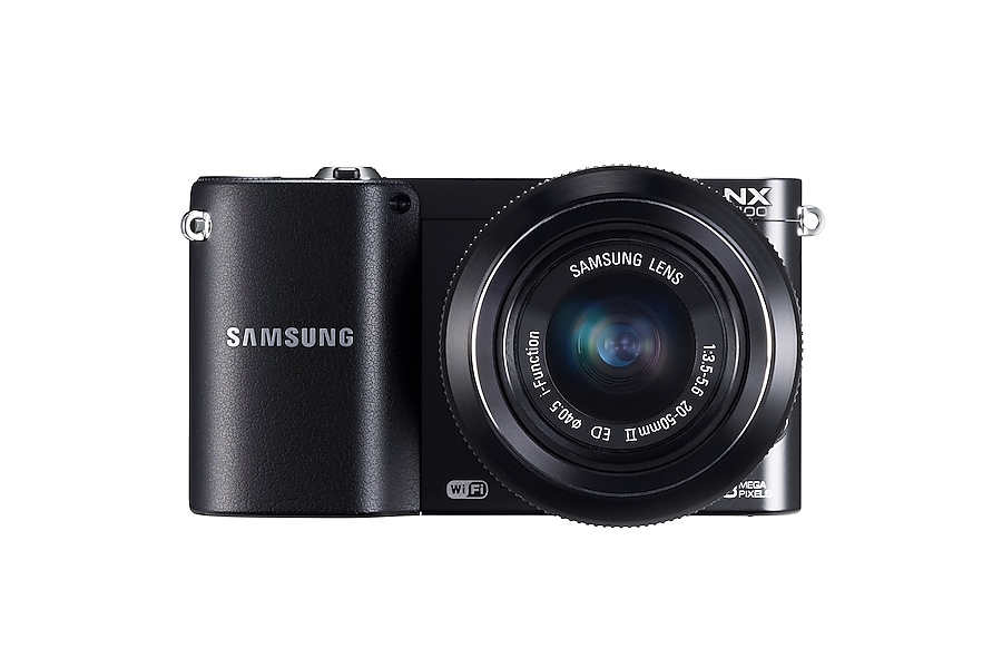 NX1100 Front with-Lens black