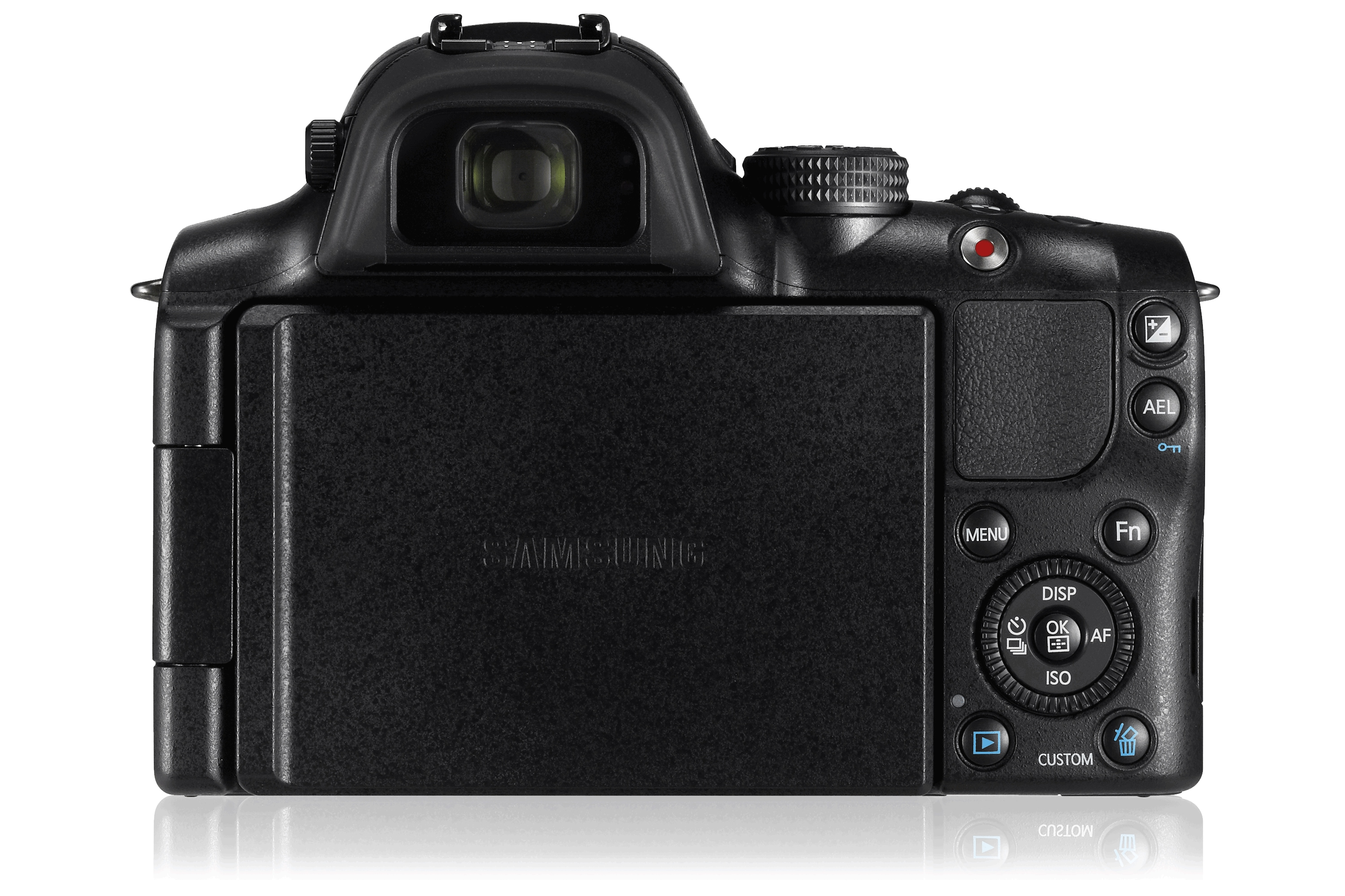 NX20 20.3MP NX SMART Digital Camera Front Black