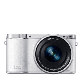 NX3000 Smart Camera NX3000 & 16-50mm PZ Lens Kit (White)