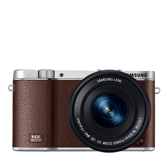 NX3000 Smart Camera NX3000 & 16-50mm PZ Lens Kit (Brown)