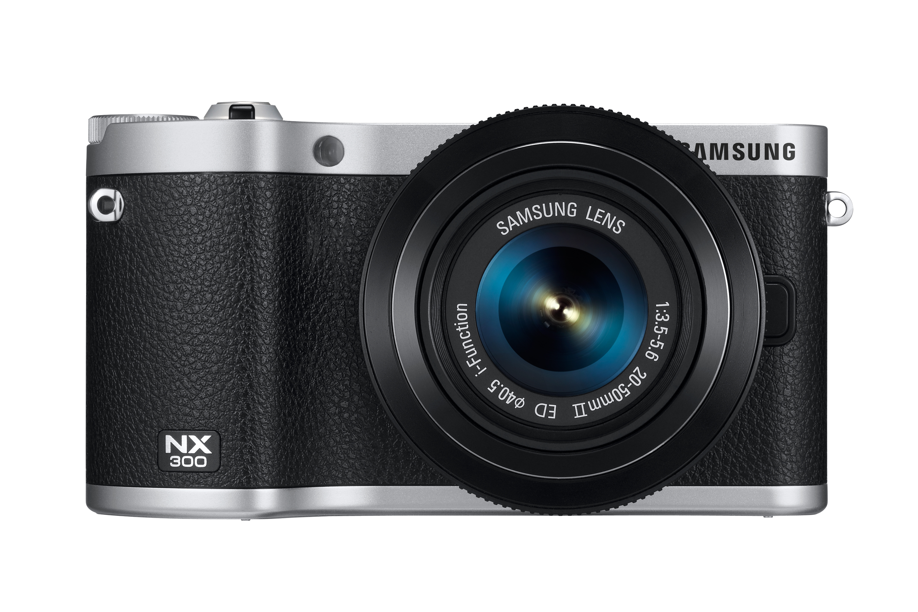 NX300 Front with Lens Black