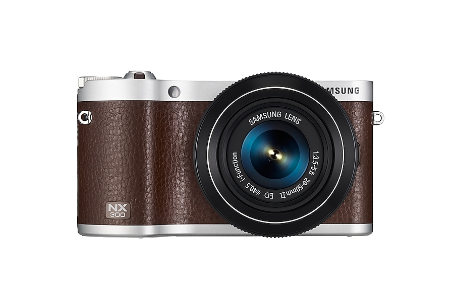 Smart Camera NX300 & 20-50mm Lens Kit (Brown)