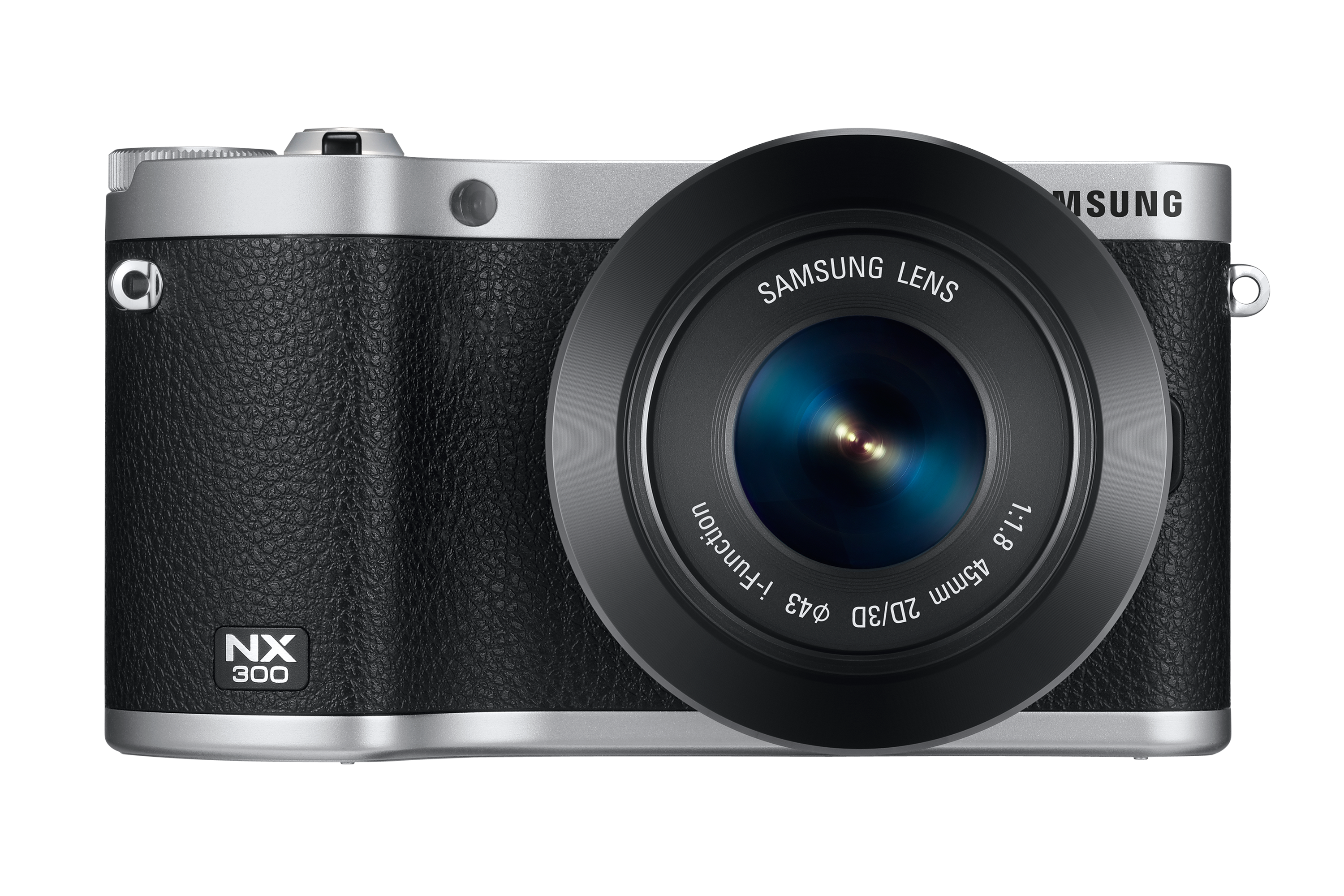 NX300 Front-with-Lens BLACK