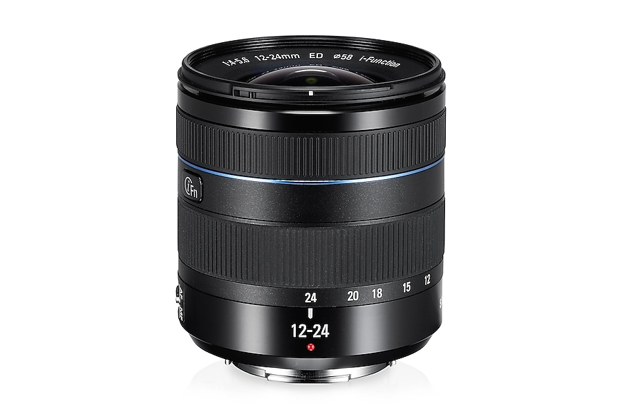 W1224ANB 12-24mm F4-5.6 ED Wide Zoom Lens Front Black